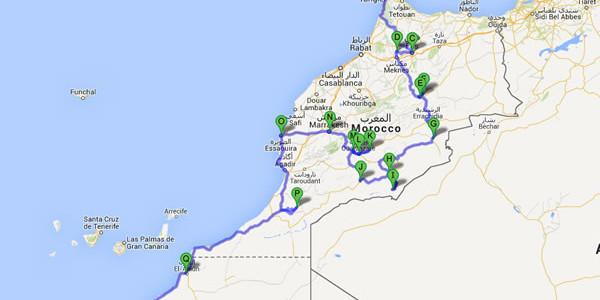 Cartina Muta Marocco.Portfolios Pagina 2 Girovaganti